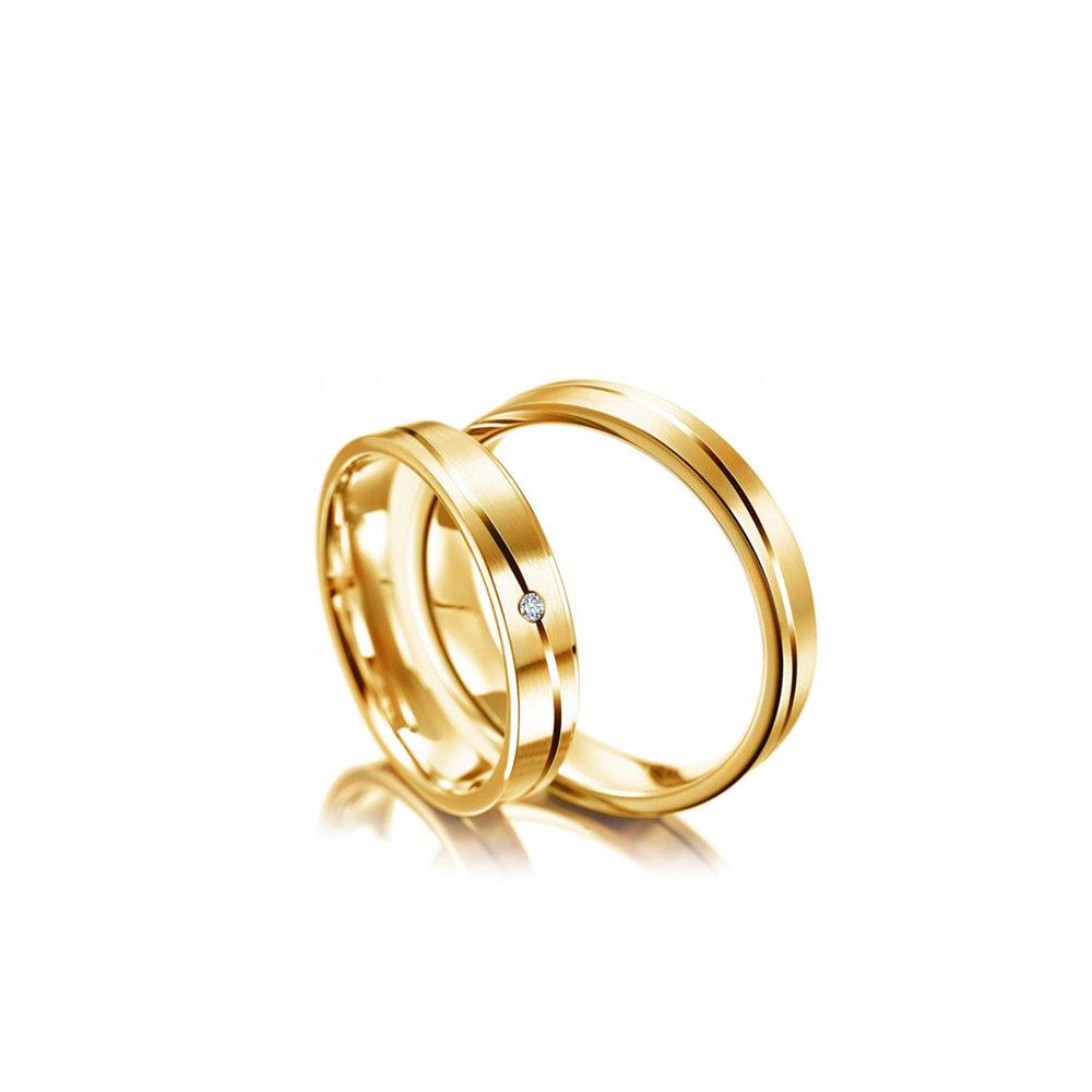 90e0be461fe7 Золотые парные обручальные кольца Каталог Цены» — карточка ...