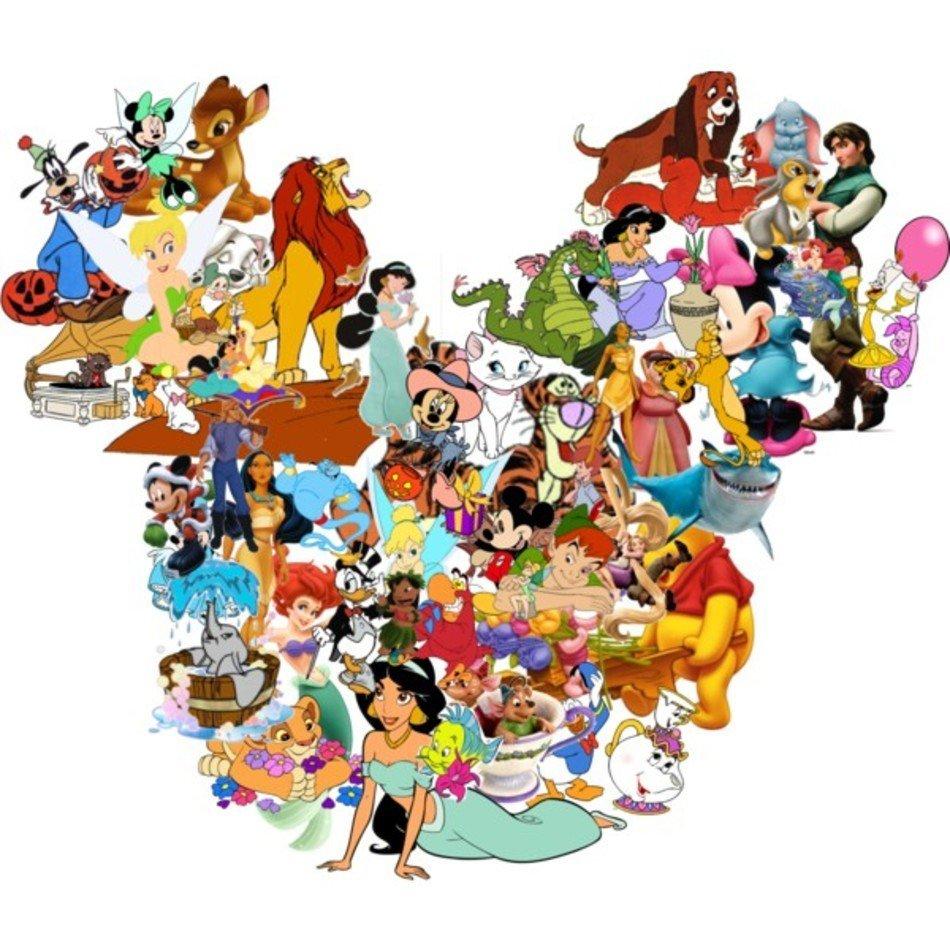 Картинки коллажи мультфильмы