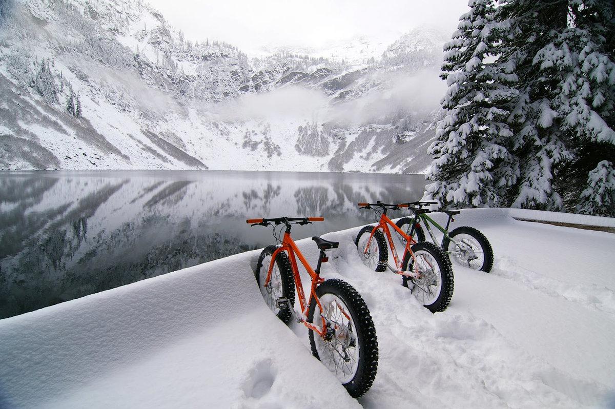 выглядит он, картинка велосипед и зима своем
