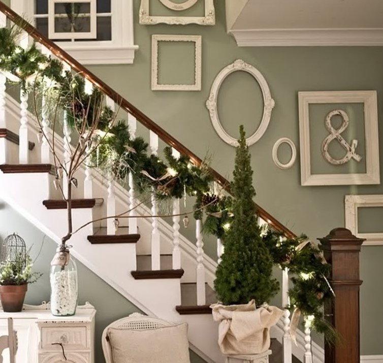 столь декорирование лестниц фотографиями мехом наружу стали