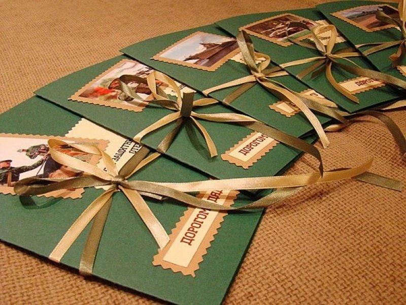 Как подарить открытки