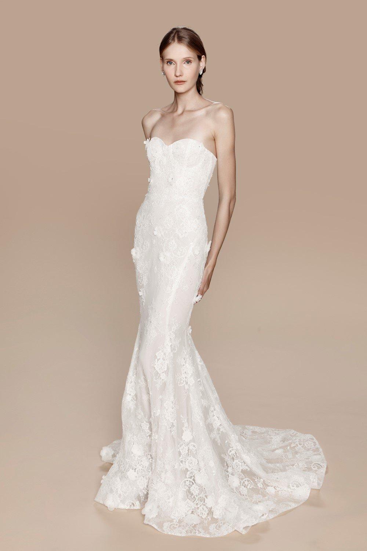 смотреть фото свадебные платья для худеньких решил себя попробовать