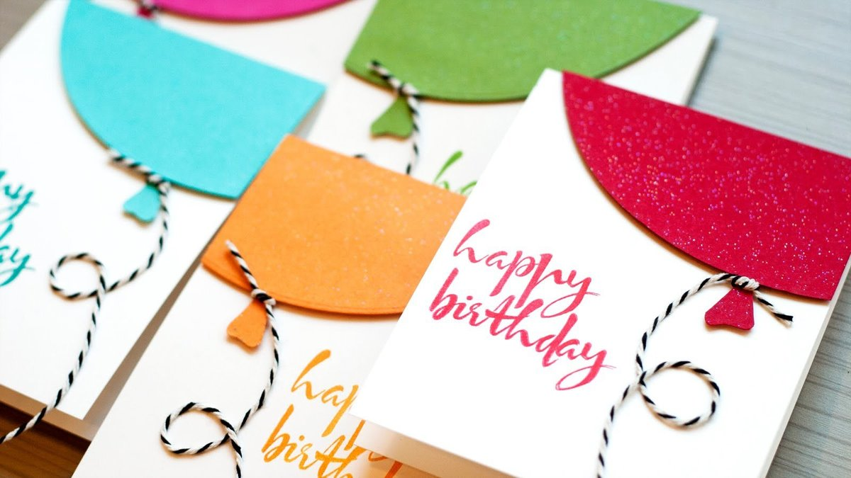 Идея для открытки на день рождение, детей епистинии