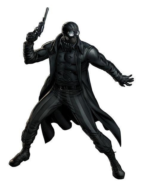 картинки человека паука нуар в полный рост мужчин