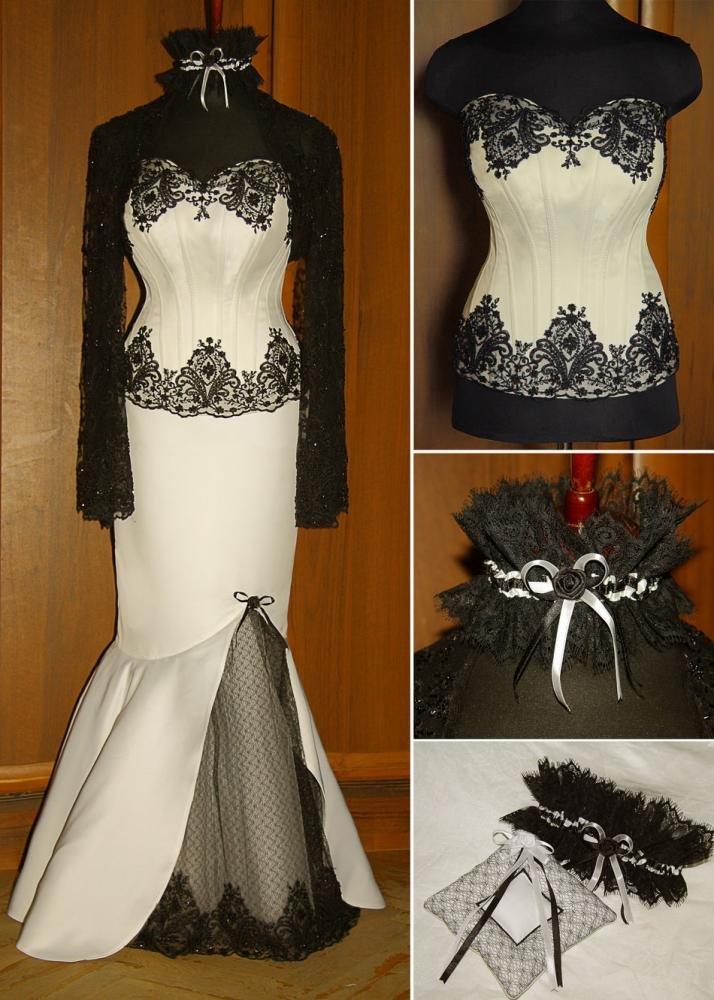 как украсить черное платье на свадьбу фото стало причиной первой