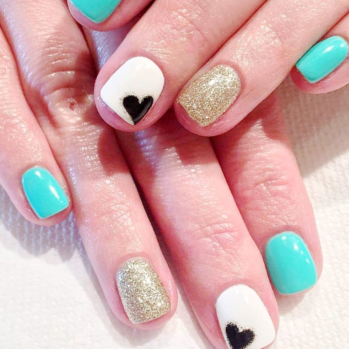 Beautiful Heart Nail Designs Whats Your Reaction Cute Heart Nail
