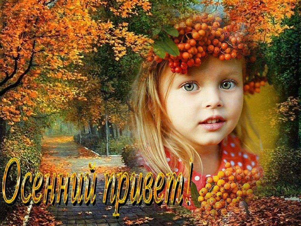Осень открытки фото, днем