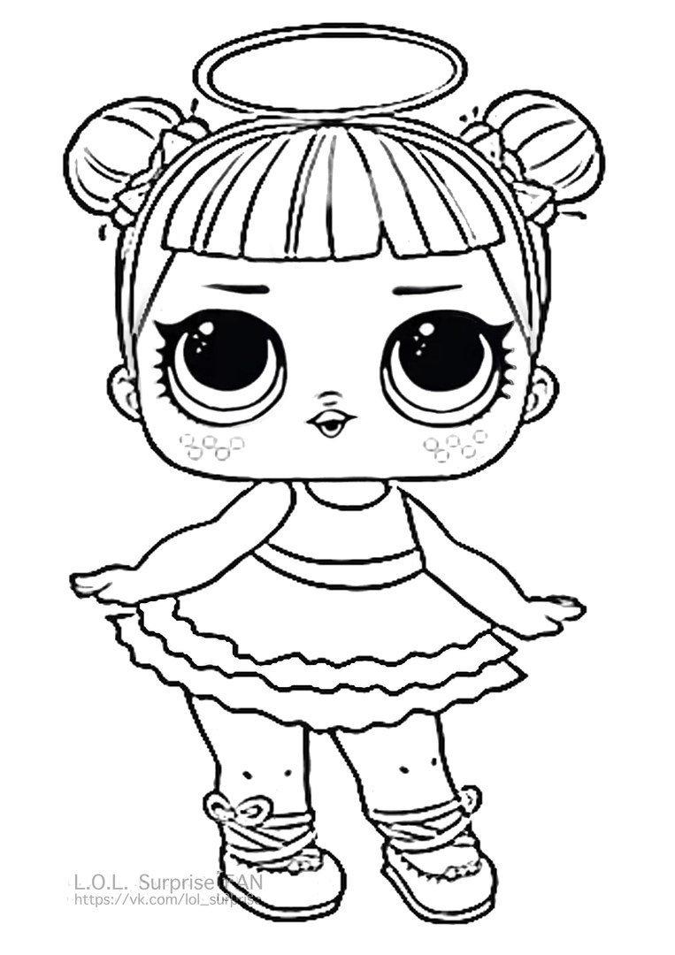 «Раскраски Кукла Лол - детские раскраски распечать ...