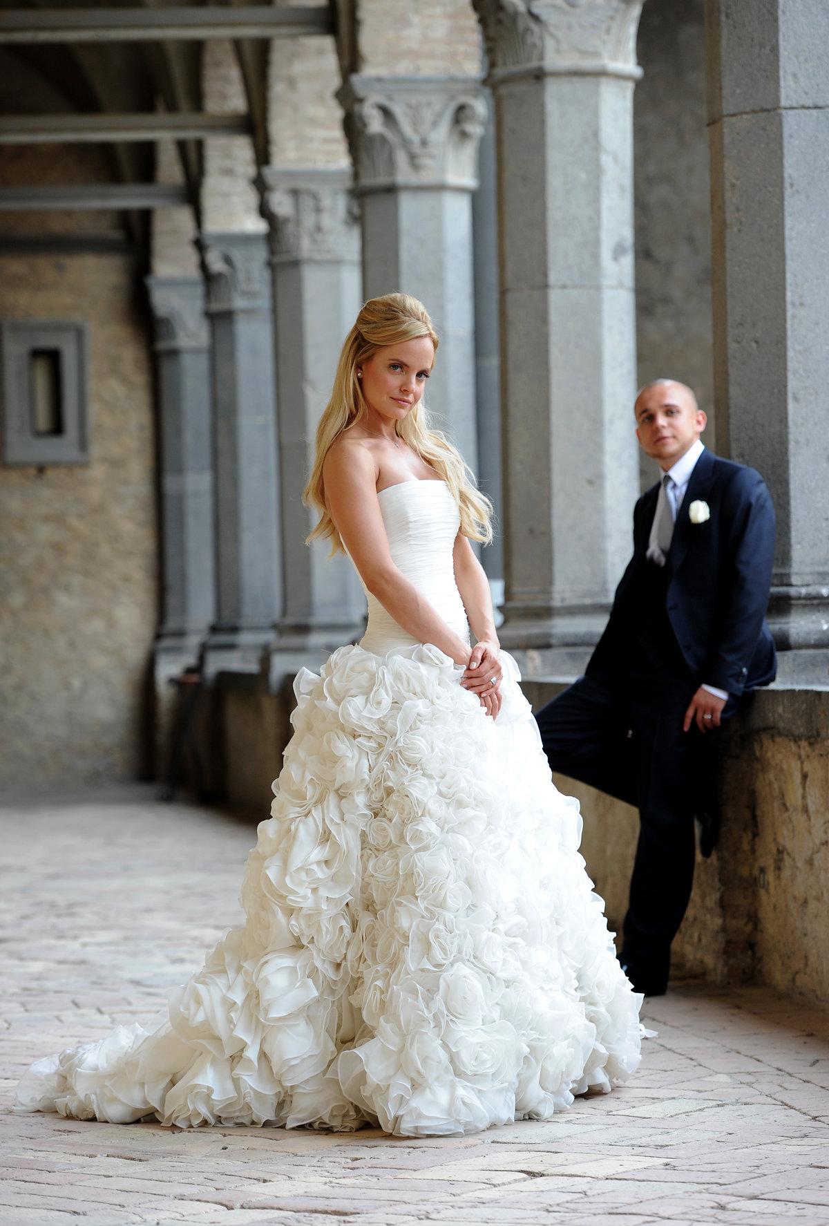 Звездные свадебные платья фото