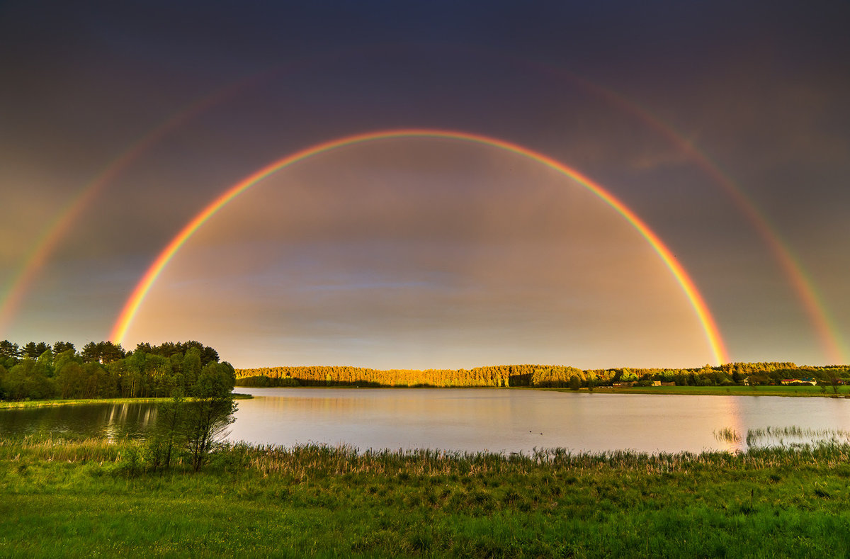 Красота радуги в картинках