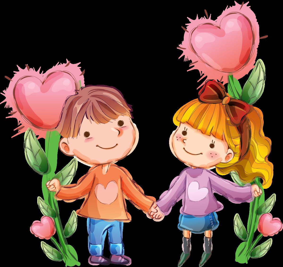 Картинка дружбы для детей, спасибо
