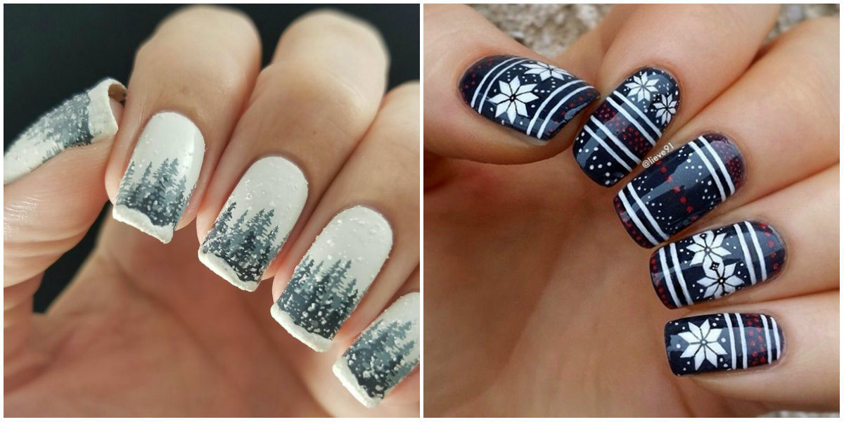 Winter Nail Colors 2019 Offer Unique Nail Design Options For Winter