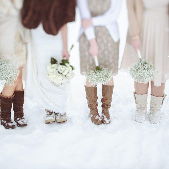 что одеть на свадьбу зимой гостям фото вагонки