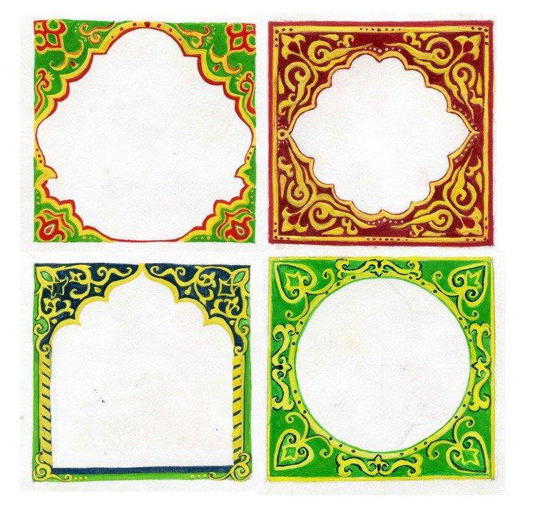 Картинки с татарским орнаментом для презентаций