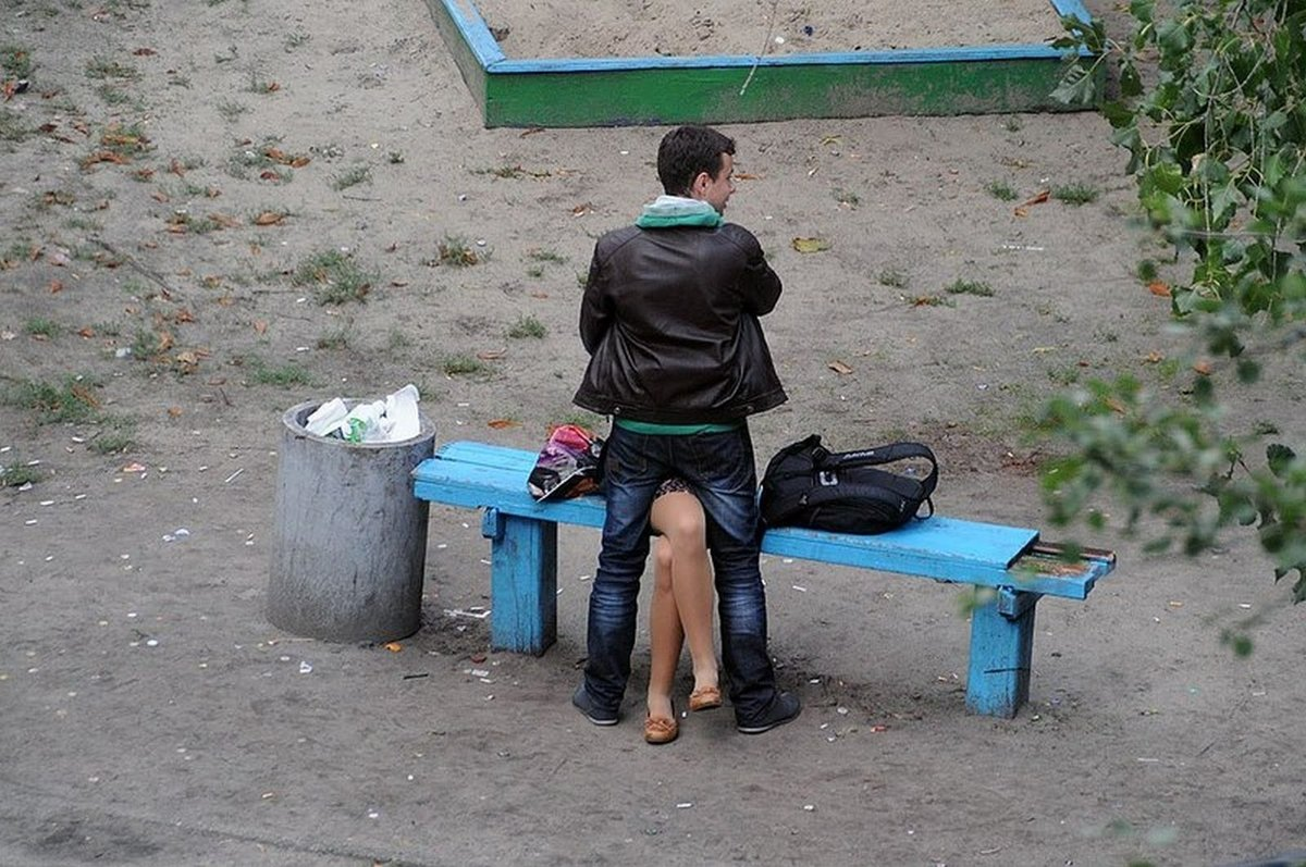 Девка дала на улице — img 7