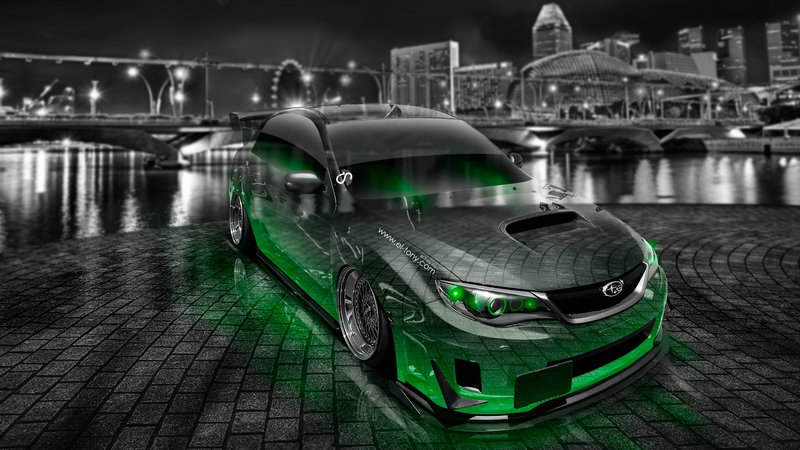 Subaru Impreza WRX STI JDM Tuning Crystal City