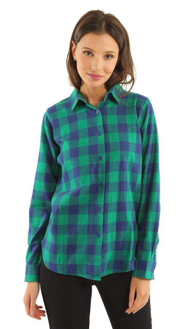 40ed185a408 Цвет  Рубашка женская в клетку TVOE • Состав  хлопок - 100%. • Цвет