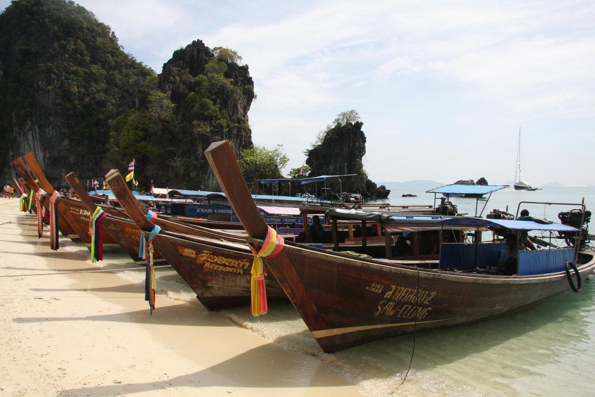 Аренда лодки на краби