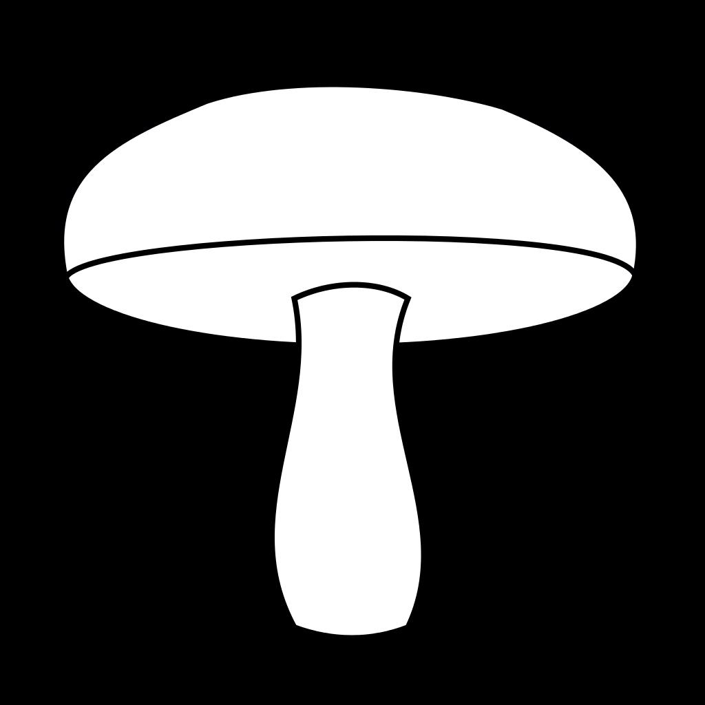 Картинки грибы для вырезания