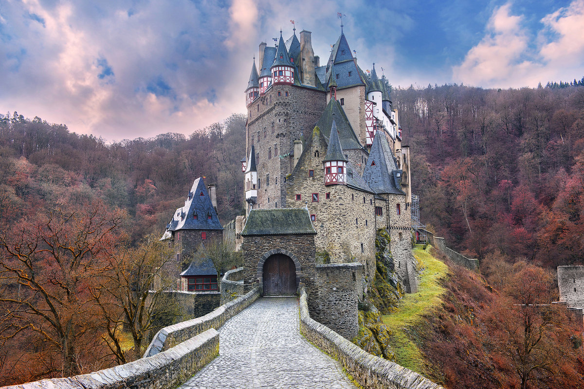 Сказочные картинки замков, годовщиной свадьбы