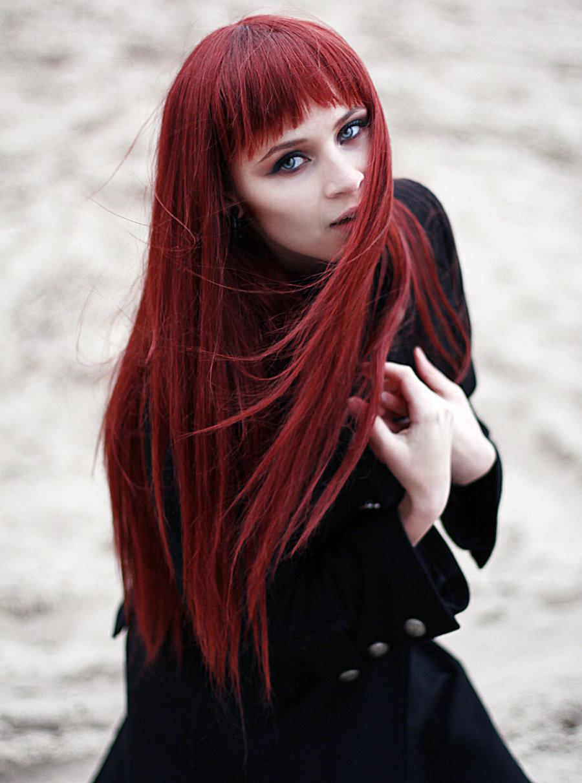 красивые красноволосые девушки пусть