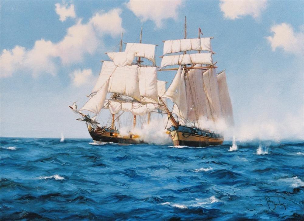 Картинки корабли море моряки