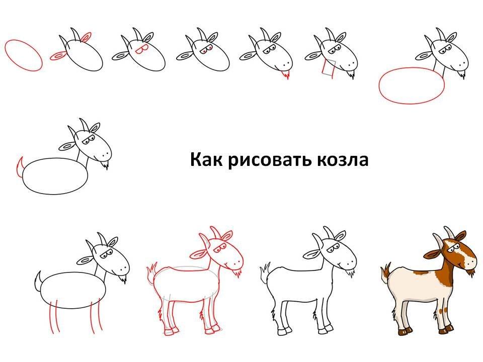 матрас картинки как нарисовать козлика свитер