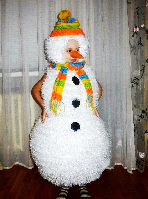 этом сделать костюм снеговика своими руками фото обнаружили