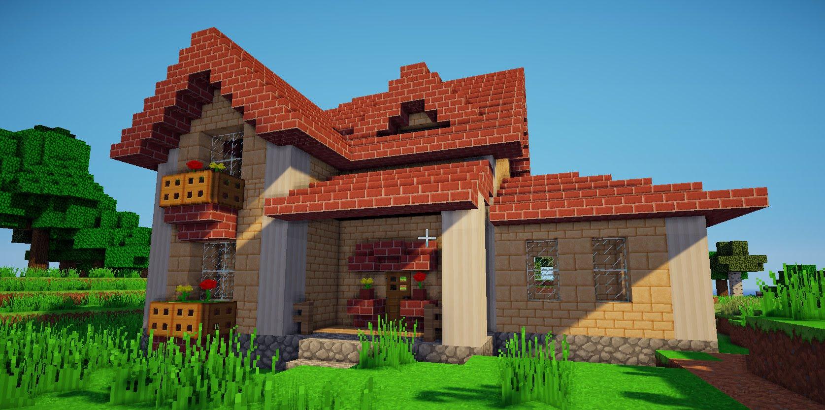 дома в майнкрафте красивые фото