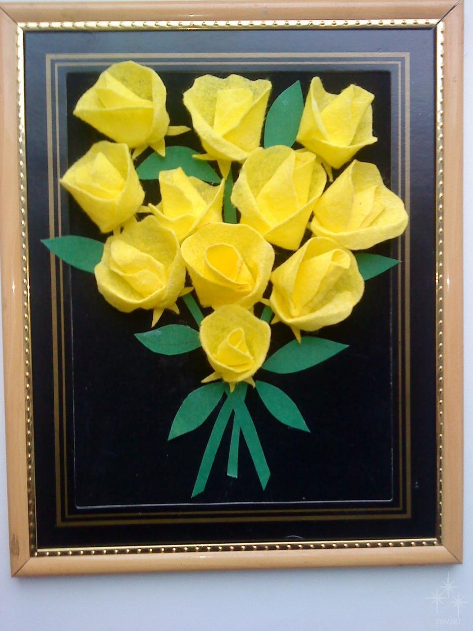 Открытка с цветами из салфеток своими руками ко дню матери