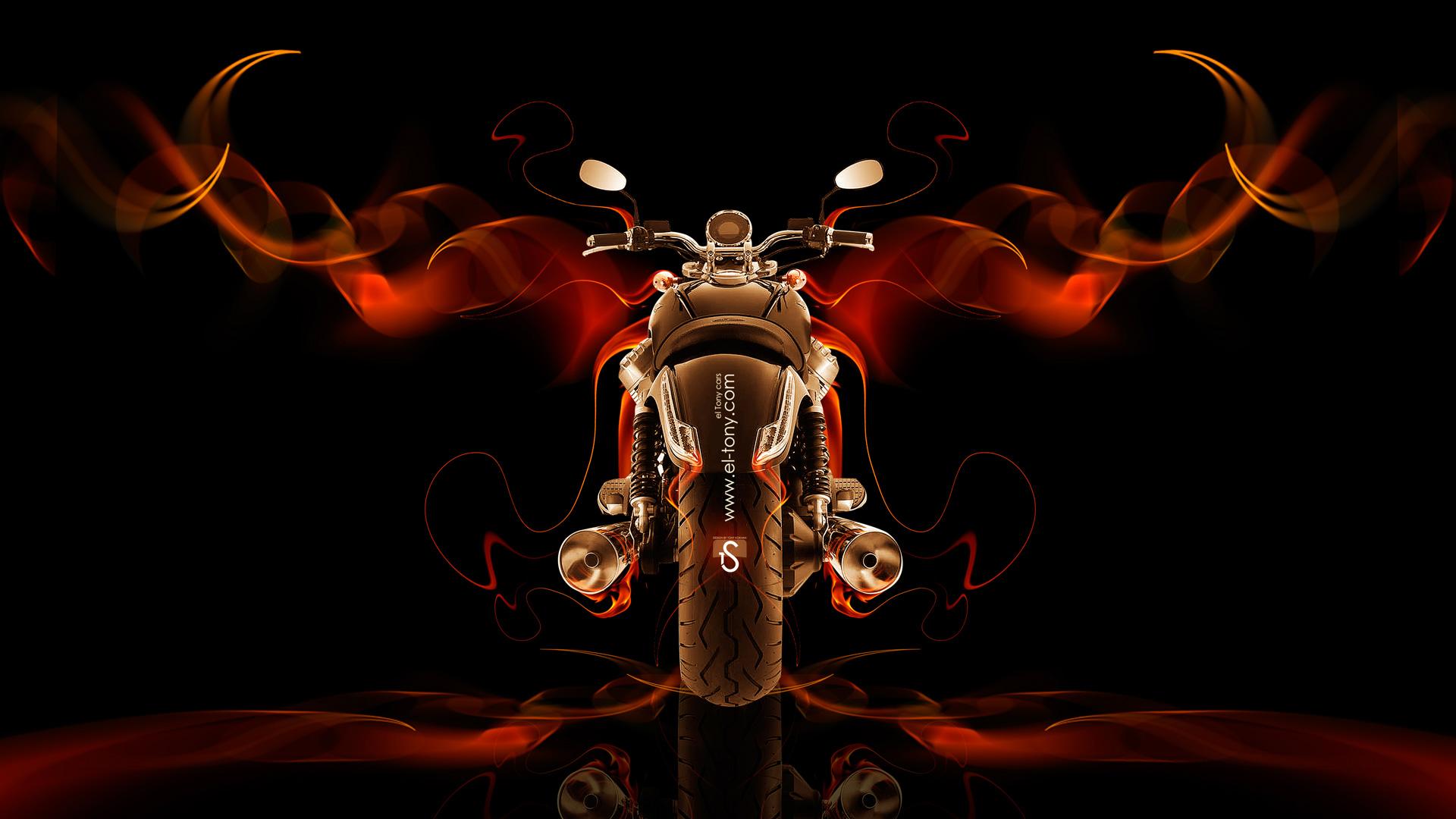 Moto Guzzi California Back Fire Abstract Bike 2014 HD Wallpapers ...