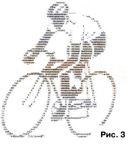 Картинки из набора символов паутину