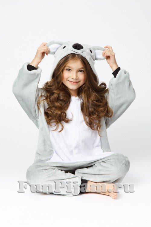 Пижама кигуруми детская Коала серого цвета» — карточка пользователя ... fb171a9070edf