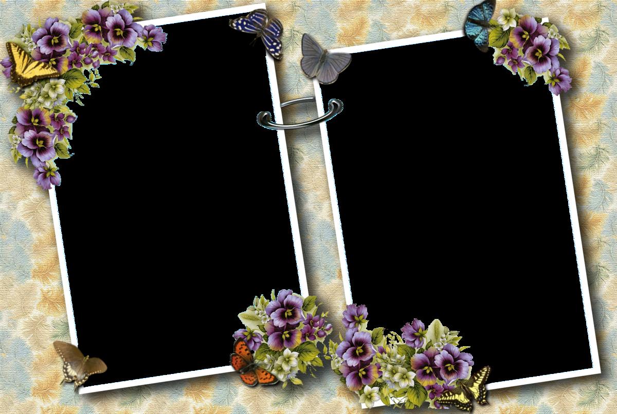 Фон для открытки с рамками