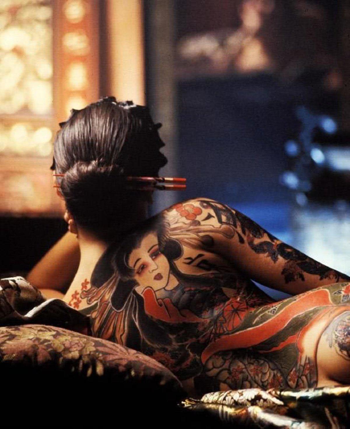 Geisha nude tattoo, can clothes sperm swim through