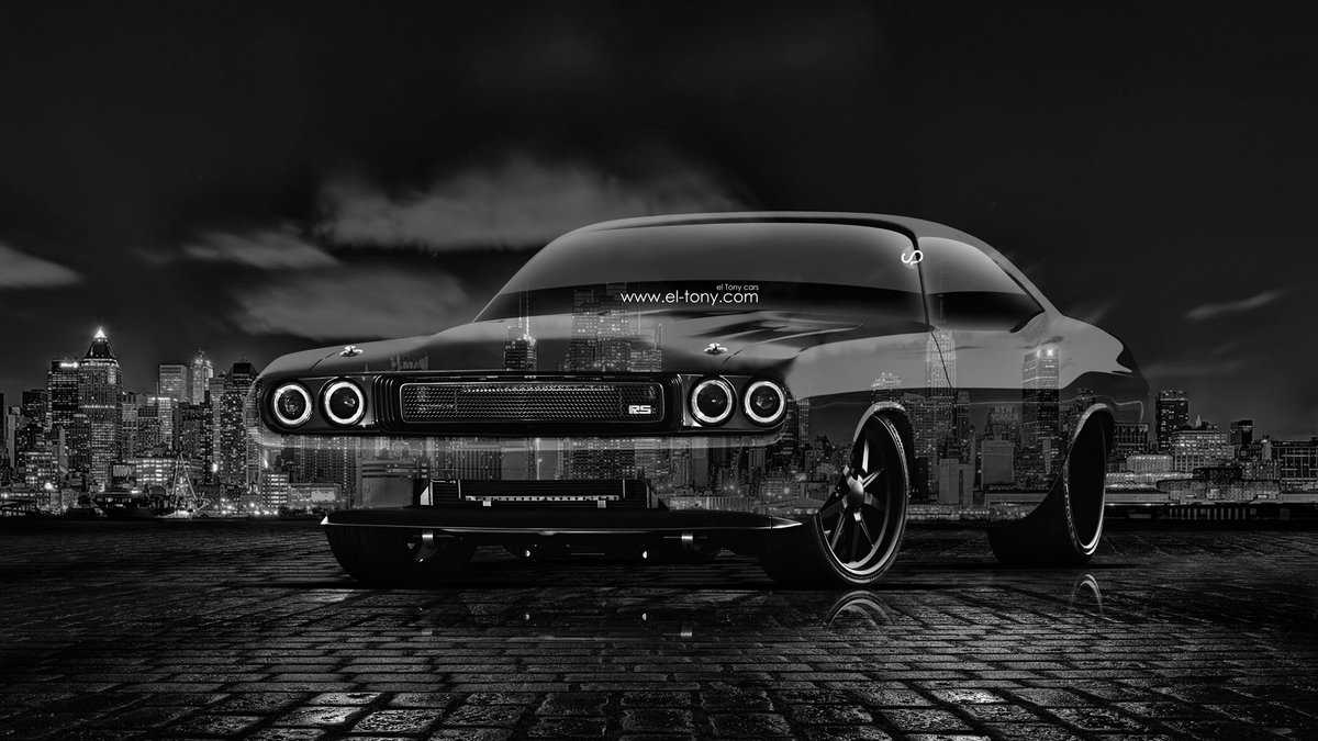 Dodge Challenger RS 1970 Muscle Tuning Crystal City