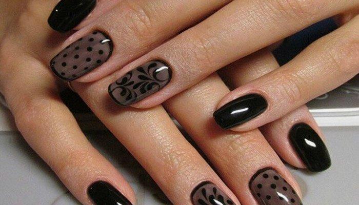 Простые рисунки на ногтях в домашних условиях гелем на 26