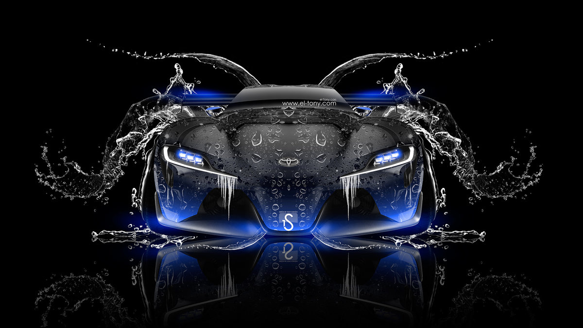 Toyota FT 1 Tuning Fron Water Car 2014
