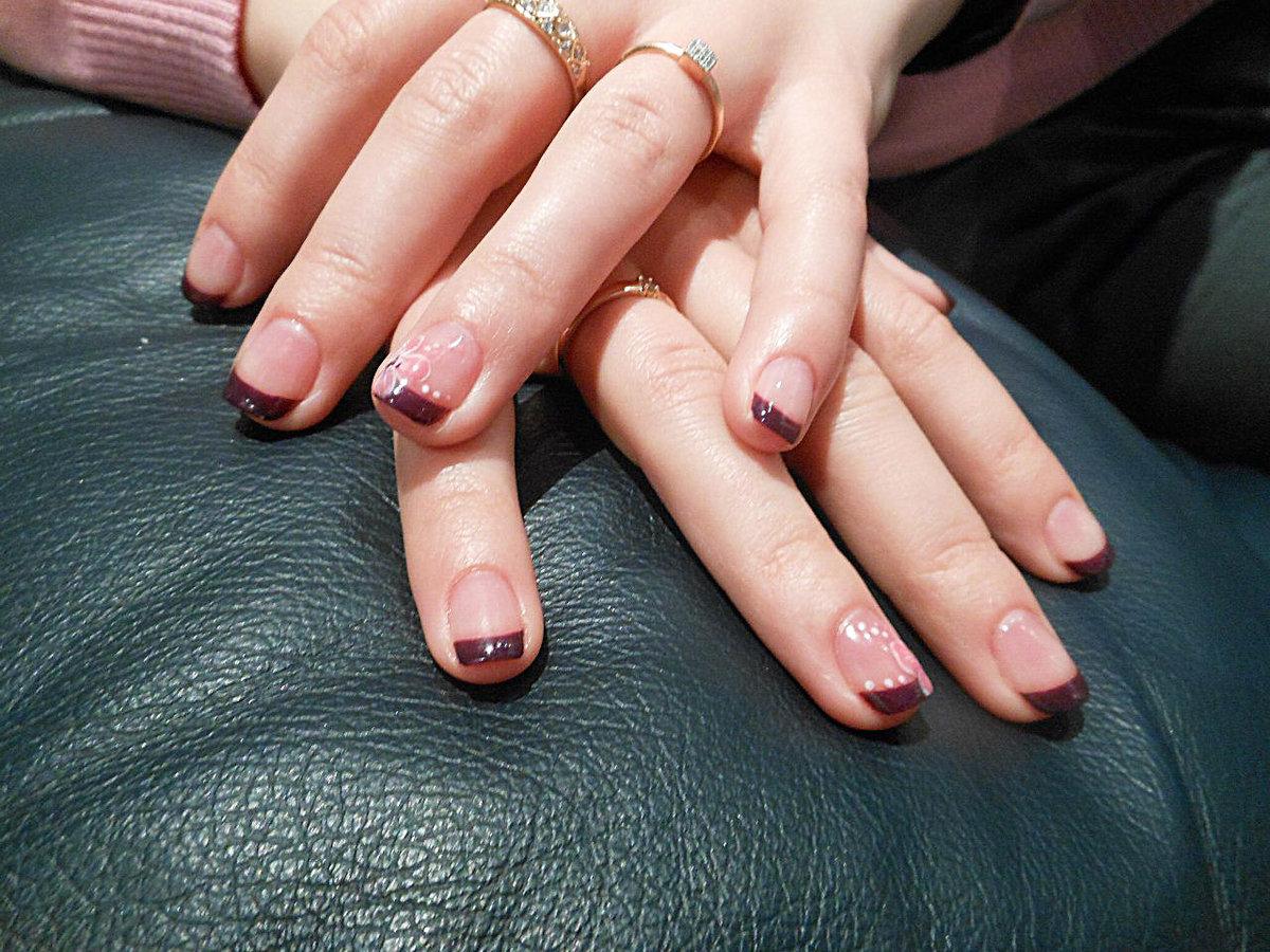 Педикюр Дизайн Большого Пальца Фото