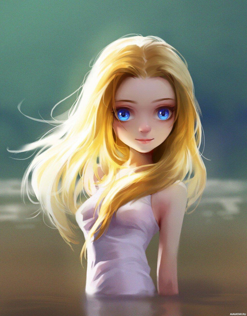 Яблочным спасом, картинки мультяшные девушки блондинки