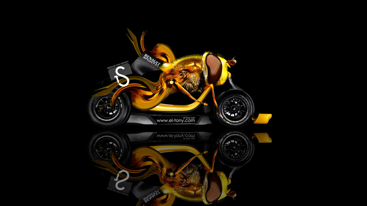 Reno Twizy RS F1 Fantasy Bee Car 2013