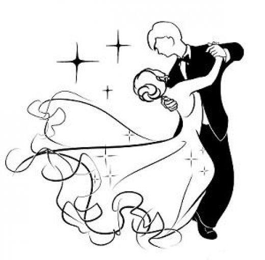 рисунок танец вальс