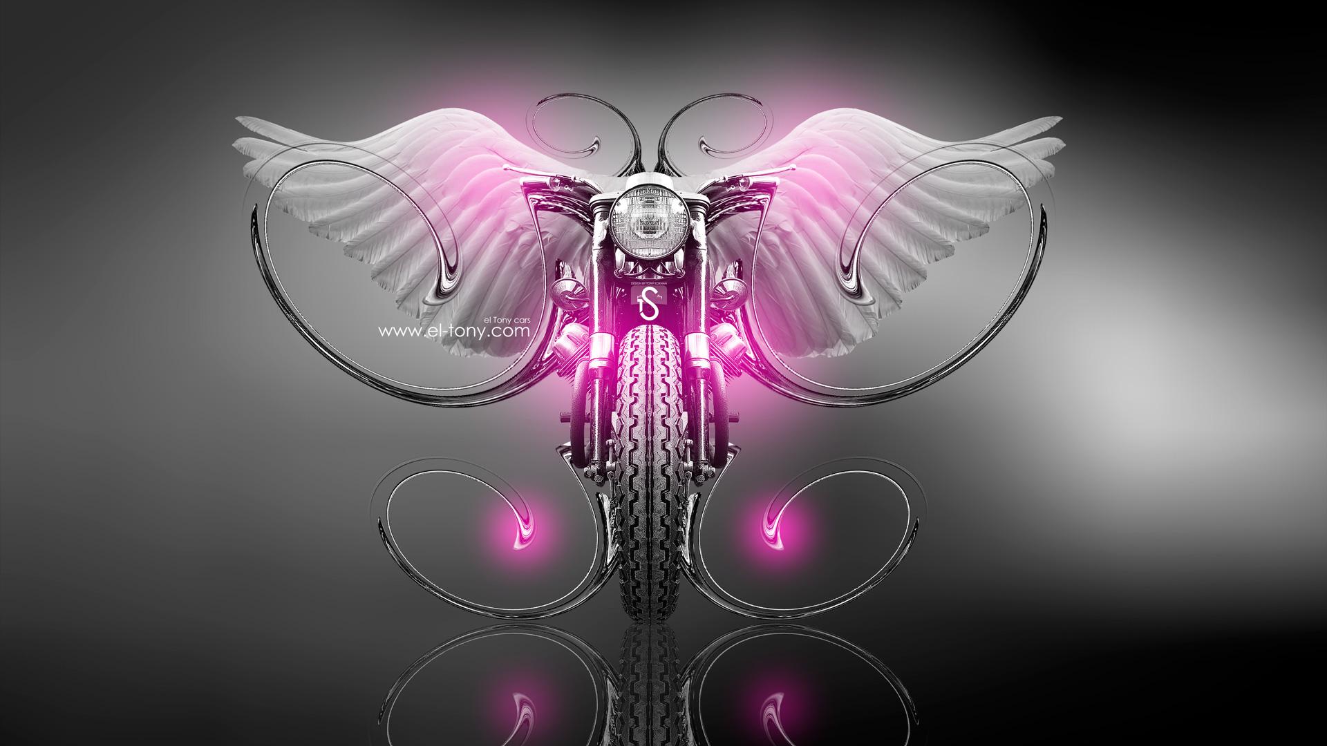 Moto Guzzi Fantasy Fly 2013 Pink Neon HD Wallpapers By Tony Kokhan ...