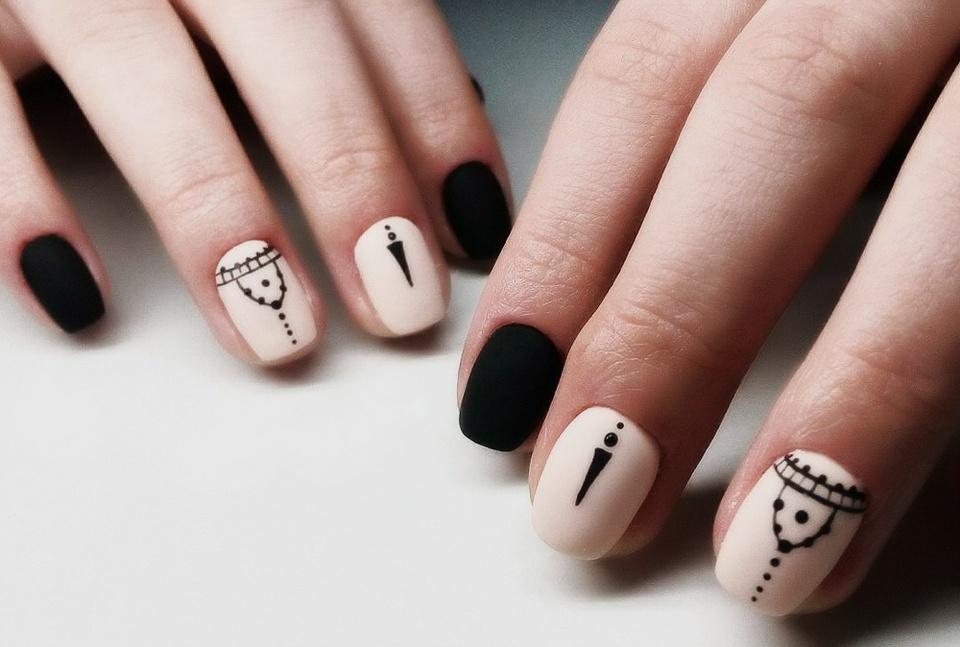 картинки с рисунками на ногтях