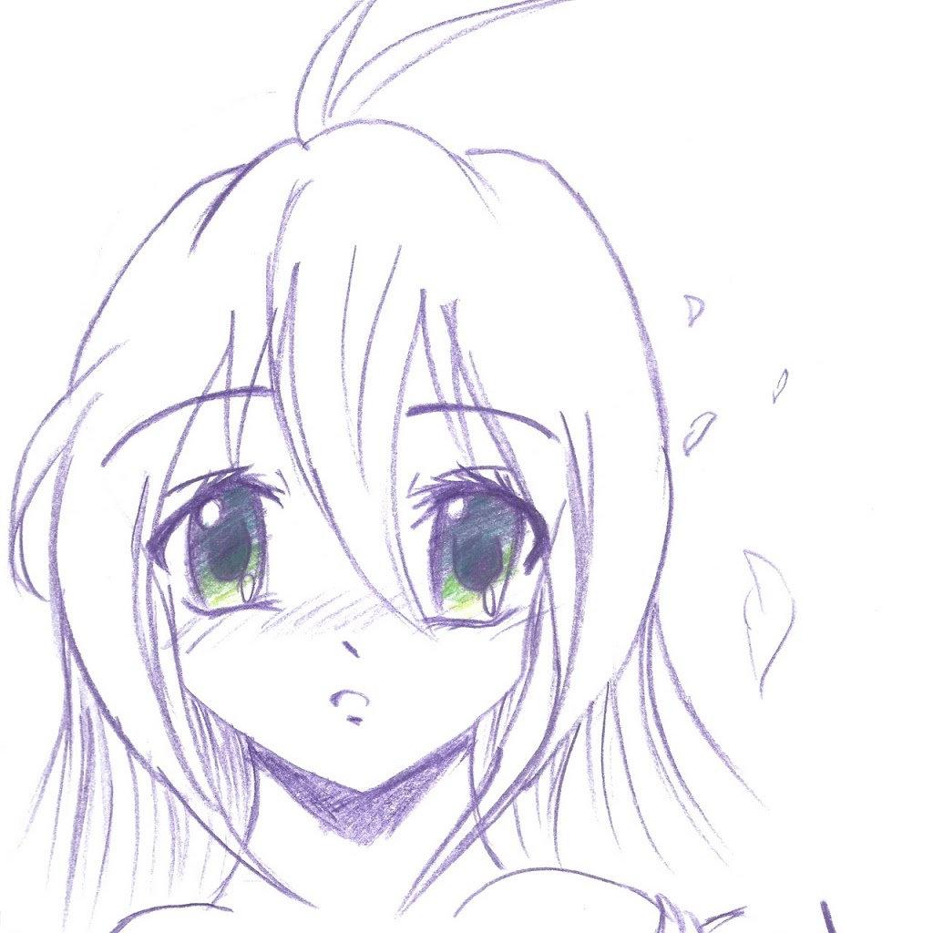 Картинки как рисовать аниме девушек