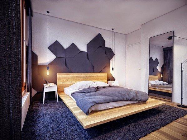 современный дизайн спальни 2018 2019 года фото идеи новинки
