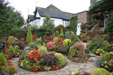 красивые сады и дачные участки