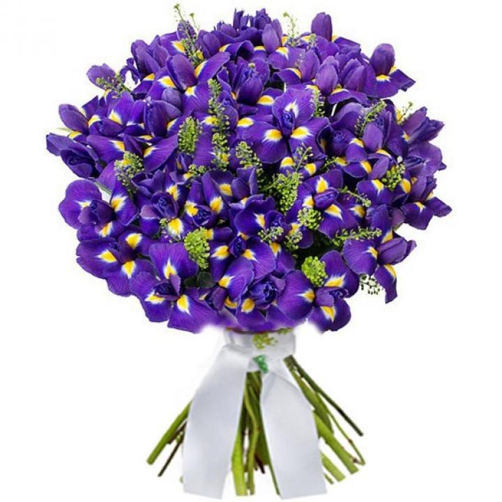 Букет для женщины сиреневый цвет, цветы купить