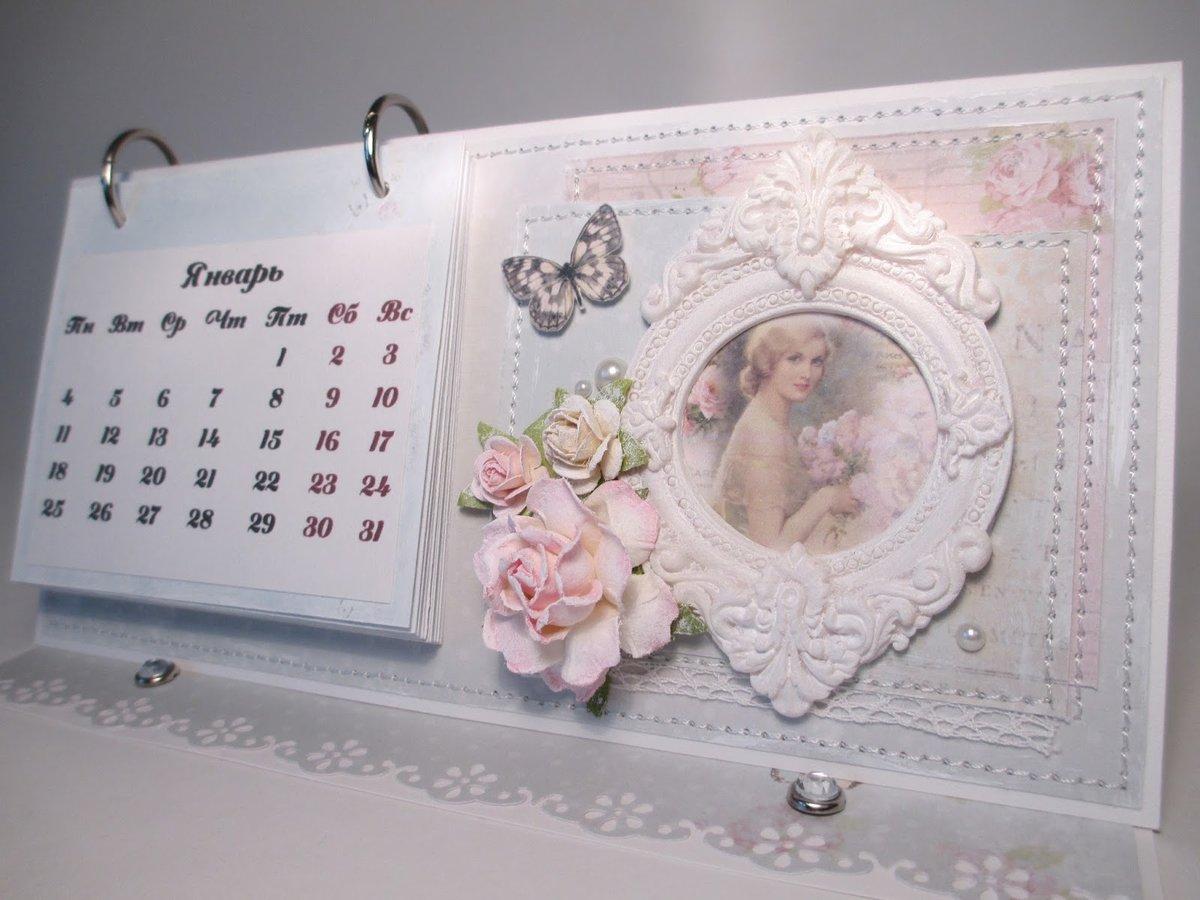 Перекидной календарь своими руками фото 824