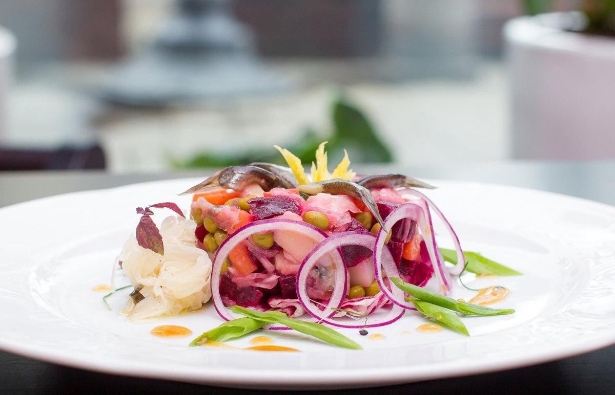 необычная подача салатов в ресторанах фото микрорайон, чистые